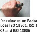 New ISO 18600 series: standardization of packaging and its environmental impact.
